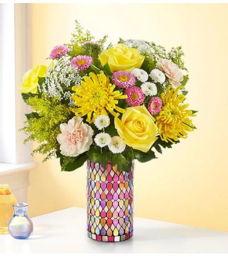 Pure Enchantment™ Mosaic Bouquet