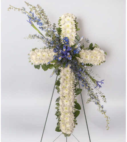 Cross - Funeral Spray