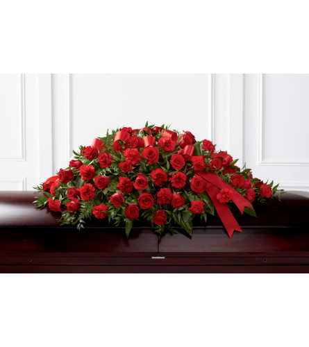 FTD® Dearly Departed™ Casket Spray