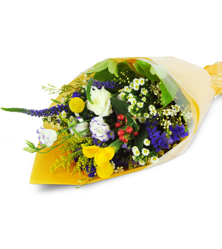 Florist's Choice Small Wrapped Bouquet