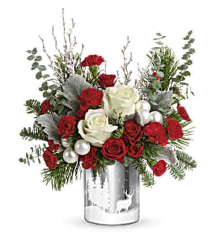 Teleflora's Winter Silhouettes Bouquet