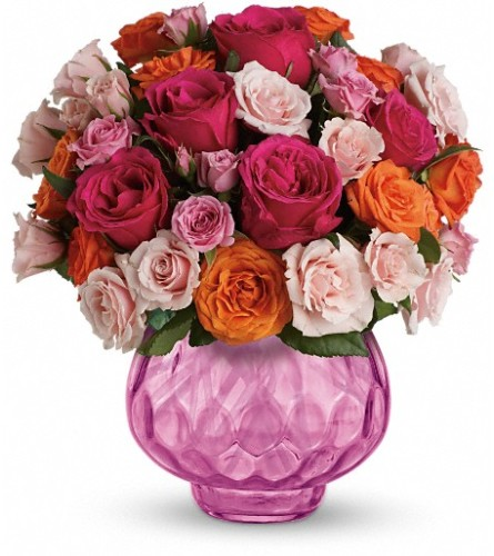Teleflora's Sweet Fire Bouquet with Roses