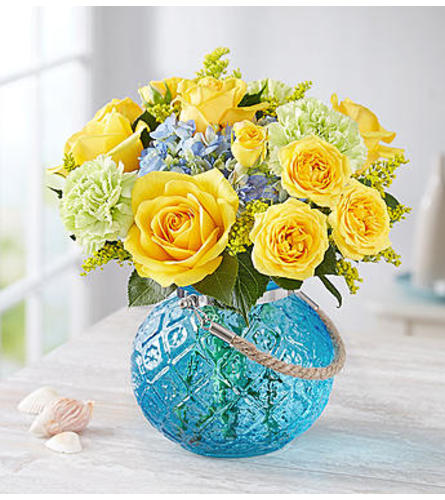 Coastal Garden™ in a Blue Vase