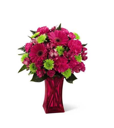 The FTD® Raspberry Sensation Bouquet