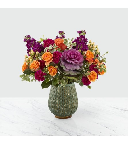 Autumn Harvest ™ Bouquet in a Ceramic Vase