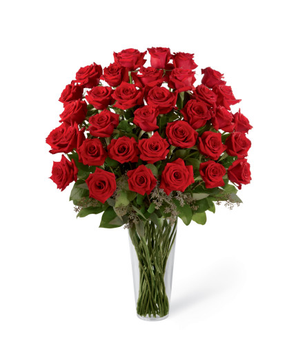The FTD® Red Rose Bouquet - Exquisite