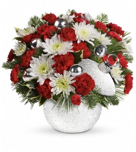 Teleflora's Snowball Surprise Bouquet