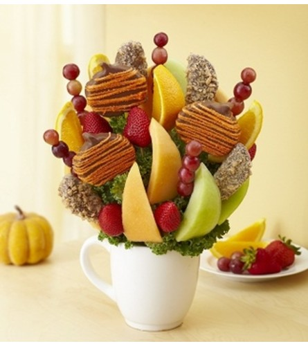 Autumn Cheer Fruit Bouquet