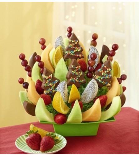 Holiday Spirit Fruit Bouquet