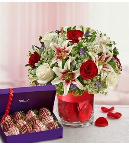 Love Struck Fruit Bouquet