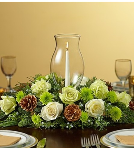 Holiday Cheer Centerpiece - Green