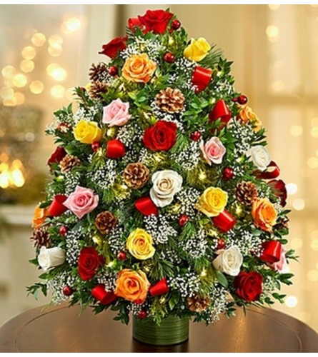 Holiday Flower Tree® Luxury- Multicolored