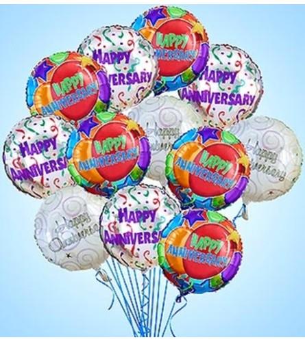 Air-Rangement® Anniversary Balloons