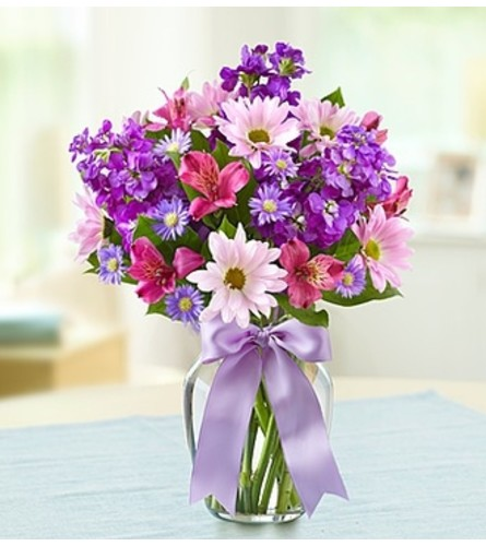 Lavender Dreams™ in a Clear Vase