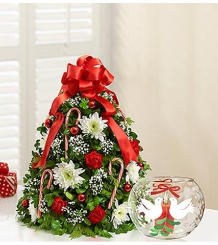 Holiday Flower Tree® with Votive