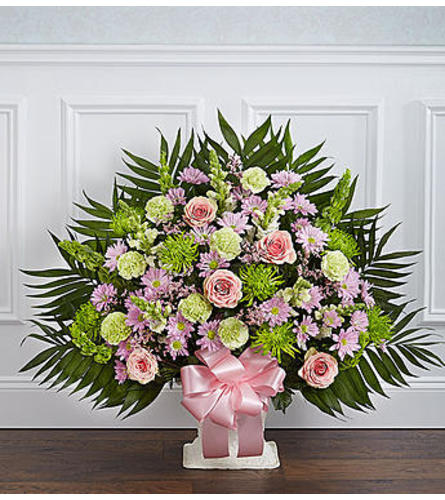 Heartfelt Tribute™ Floor Basket - Pastel