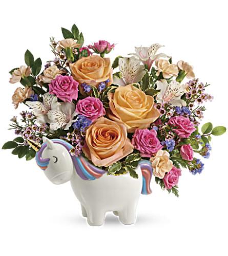Teleflora's Magical Garden Unicorn Bouquet 2021