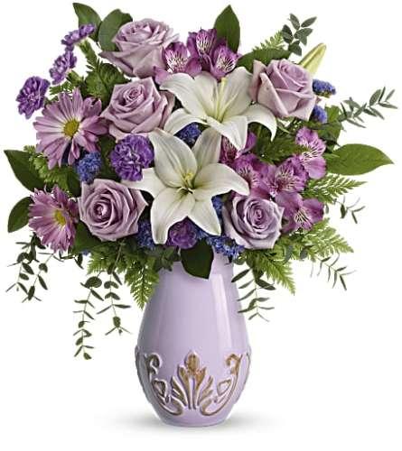 Teleflora's French Vintage Bouquet