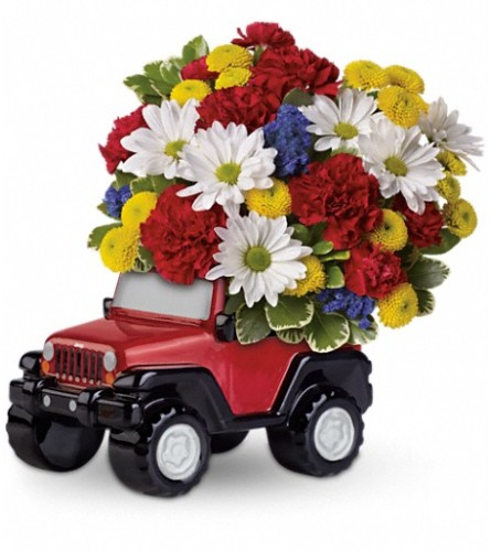 Jeep® Wrangler Blazing Trails Bouquet by Teleflora