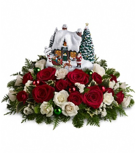 Thomas Kinkade Santa's Workshop by Teleflora
