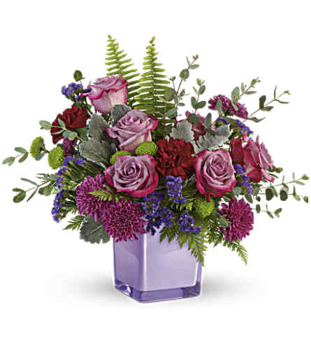 Teleflora's Purple Serenity Bouquet
