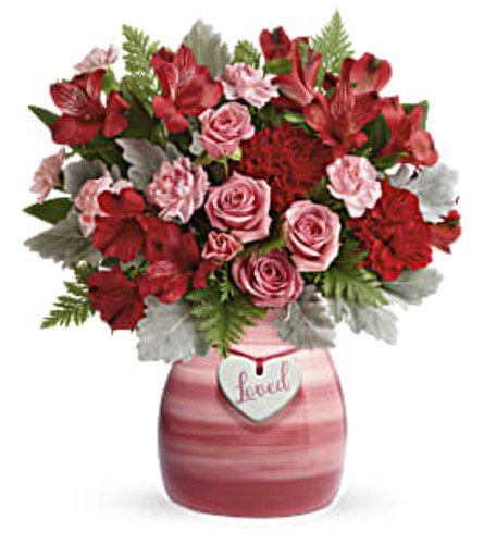 Teleflora's Playfully Pink Bouquet 2021