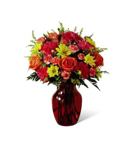 The FTD® Colors Abound™ Autumn Bouquet