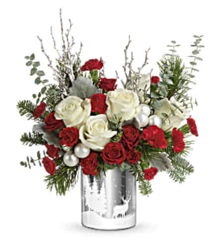 Teleflora's Winter Silhouettes Bouquet