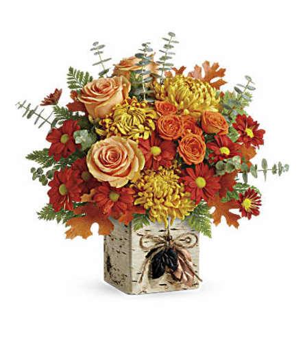 Teleflora's Wild Autumn Bouquet