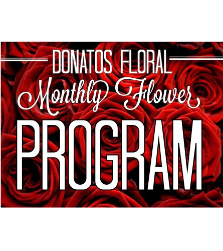 Platinum 12 Month Floral Program