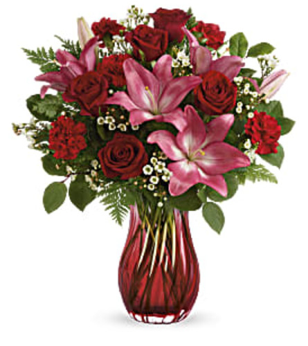 Teleflora's Enamored Elegance Bouquet 2021