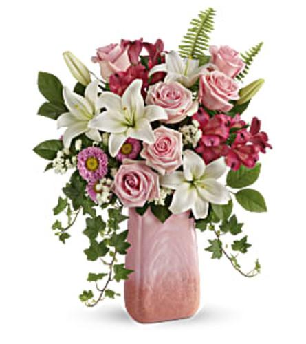 Pink n' Peach Paradise Bouquet 2020