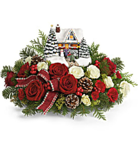 Thomas Kinkade's Homecoming Hero Bouquet 2020