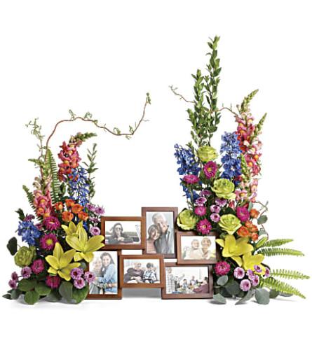 Teleflora's Loving Farewell Photo Tribute Bouquet