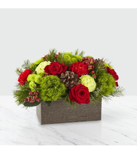The FTD® Christmas Cabin™ Bouquet