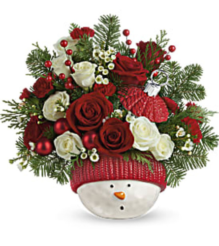 Teleflora's Winter Fun Ornament 2020