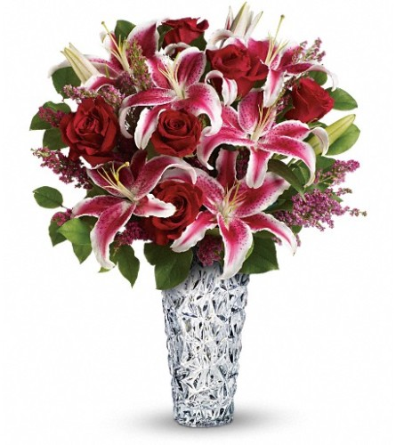 Teleflora's Diamonds And Lilies Bouquet