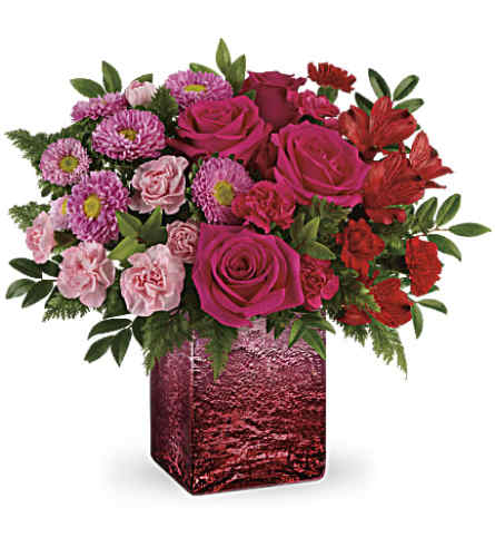 Teleflora's Breathtaking Ombre Arrangement