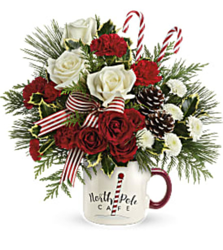 Send a Hug North Pole Cafe Mug by Teleflora 2020