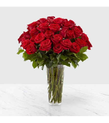 The FTD's Exquisite Long Stem Red Rose Bouquet™