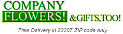 Company Flowers & Gifts Too! - Flower Delivery in Arlington, VA