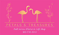 Petals & Treasures - Flower Delivery in Dagsboro, DE