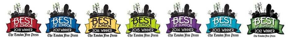 Best of London 2012-2018