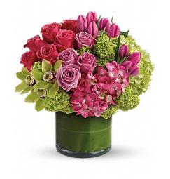Pink flowers forget me not flower shop llc new haven ct florist new sensations mightylinksfo