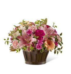 Cedar rapids ia florist same day flower delivery in cedar rapids the ftd spring garden basket mightylinksfo