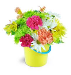 Yellow flowers lisas floral shoppe newville pa florist beachy keen mightylinksfo