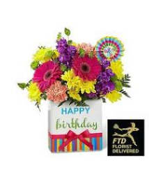 Birthday flowers for him exceptional flowers gifts boca the ftd birthday brights bouquet is a true celebration of color negle Gallery