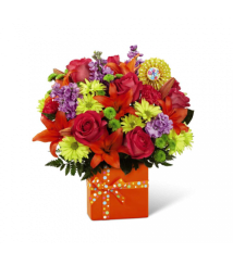 Custom designed flowers amp gifts boca raton fl florist the ftd set to celebrate birthday bouquet negle Gallery