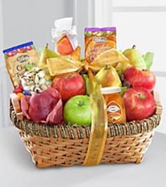 Warmhearted Wishes Kosher Fruit Basket