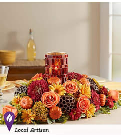 Harvest Centerpiece Pumpkin